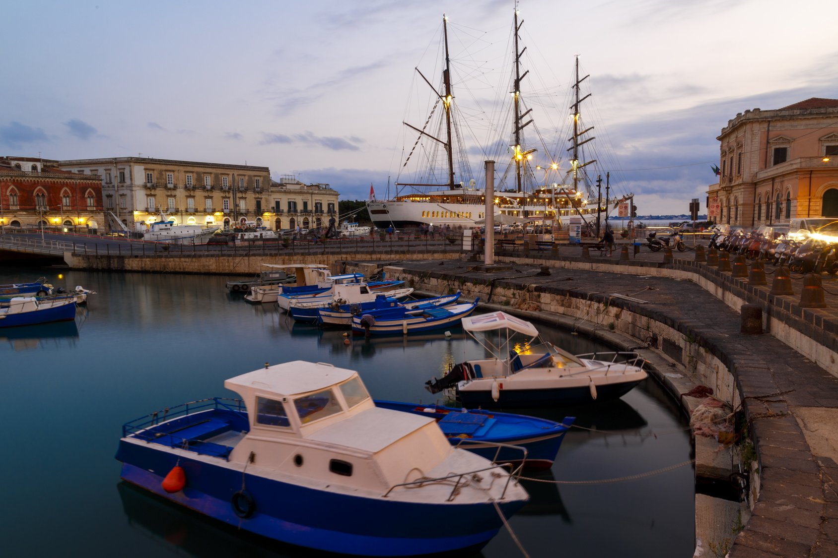 Siracusa, Sicilia d'inverno